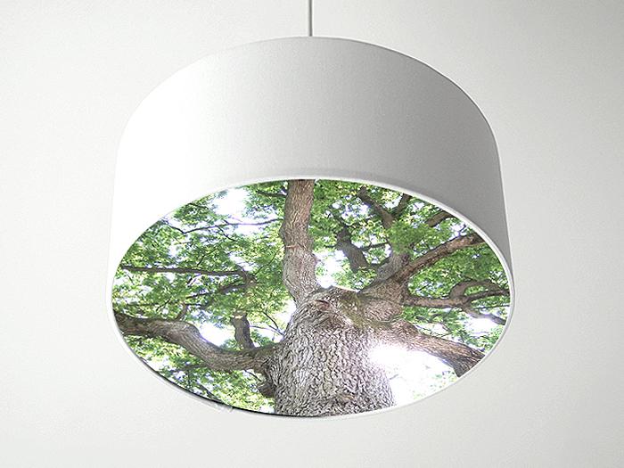 Baum Blenderlampe