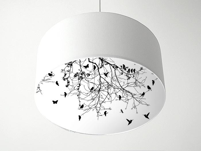 Vögelgrafik Blenderlampe-0