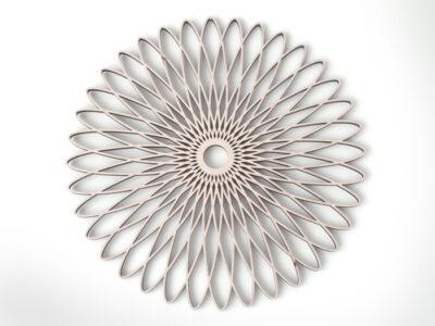 Spiralornament Holz / Berge-73