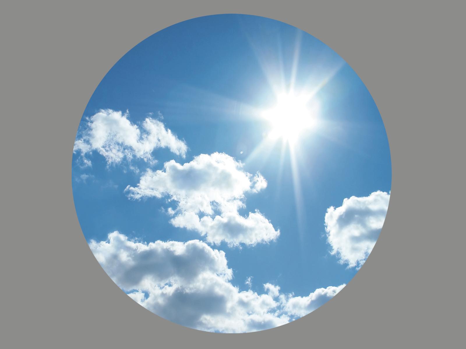 Blendermotiv Wolken