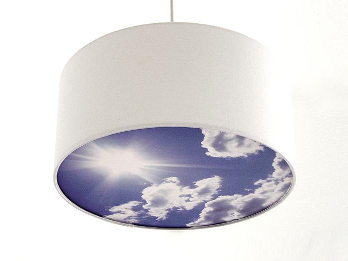 Blenderlampe Wolken