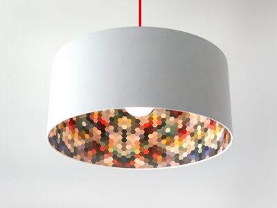 Waben-Inside Motivlampe