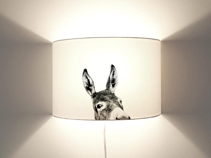 Esel Wandlampe-0