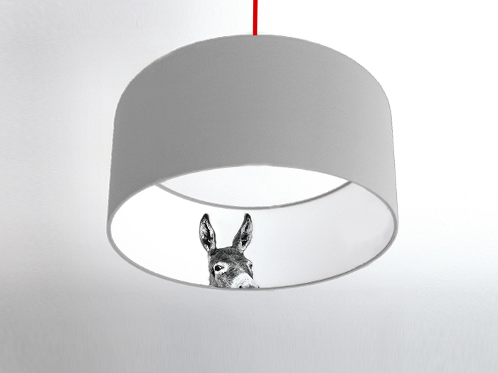 Esel-Inside Motivlampe