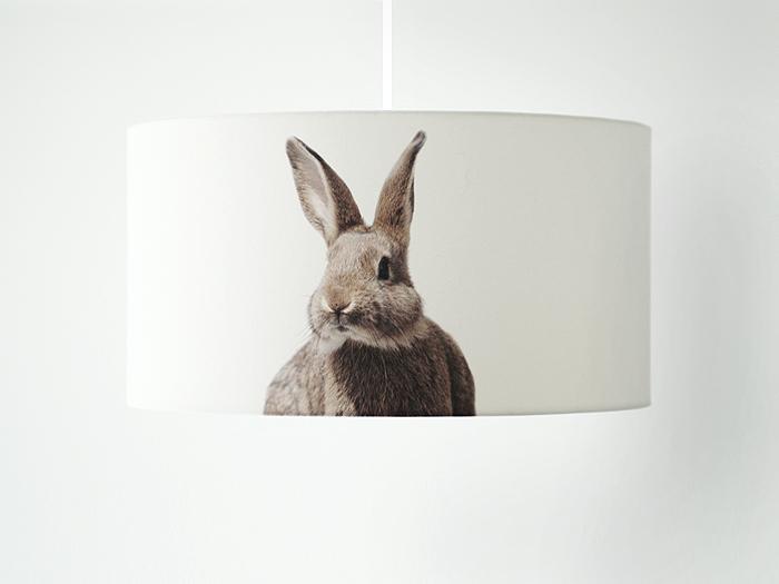 Motivlampe Hase