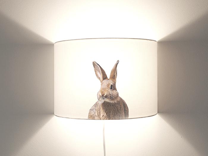 Hase Wandlampe-0