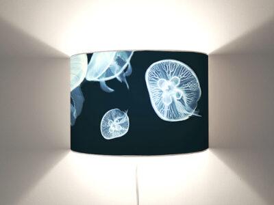 Quallen Wandlampe-0