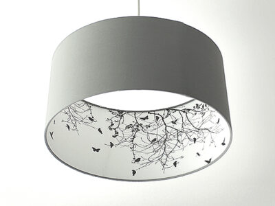 Vögelgrafik-Inside-Lampe