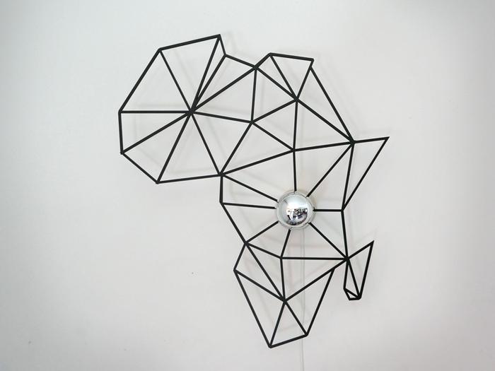 Afrika Schattenwandlampe-624