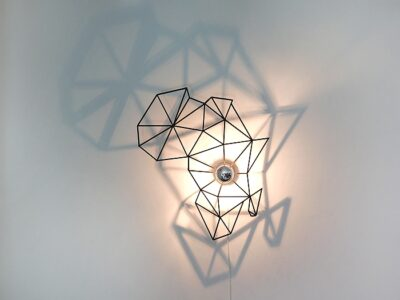 Afrika Schattenwandlampe-0
