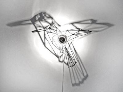 Vogel Schattenwandlampe-0
