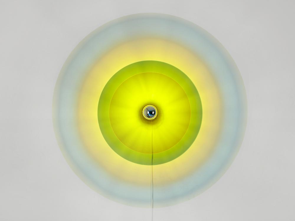 Lichtscheibe Grün-Gelb