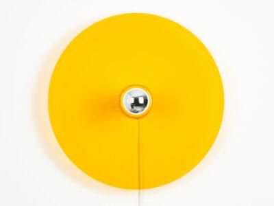 Lichtscheibe Gelb