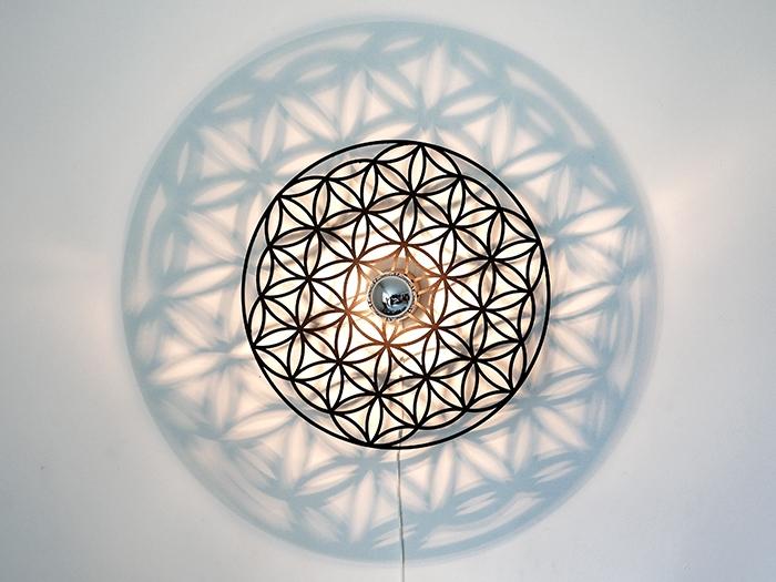 Blume des Lebens Wandlampe-0