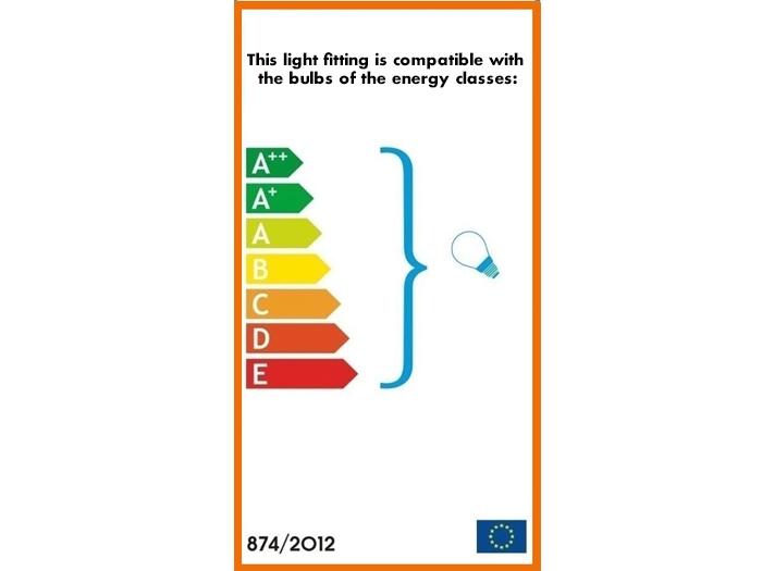 blaue Qualle Schattenwandlampe-595