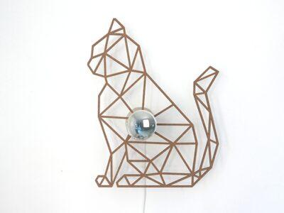Katze Schattenwandlampe-592