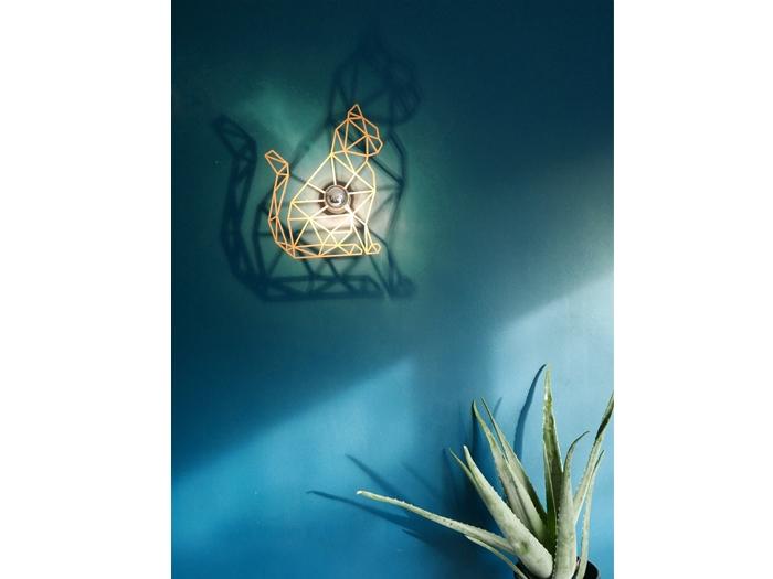 Katze Schattenwandlampe-593