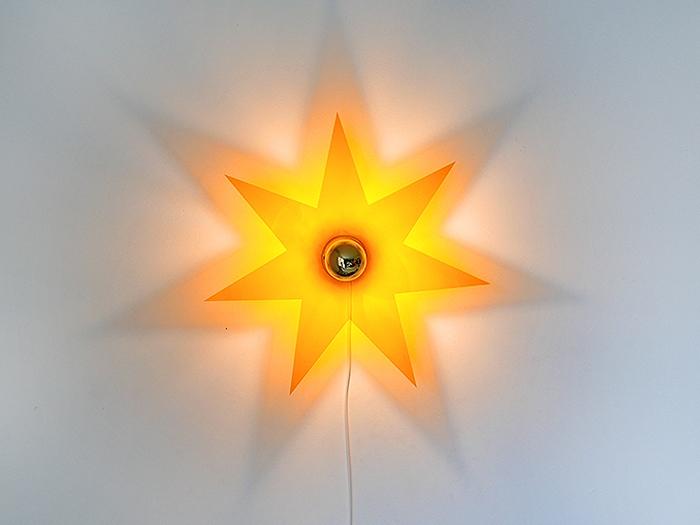 Lichtstern orange-0