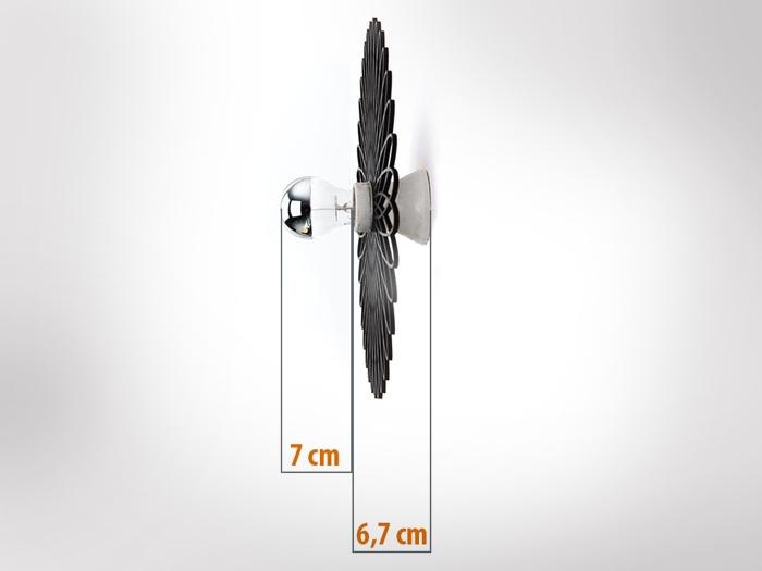 Kleeblatt Wandlampe-619