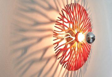 Koralle farbig Wandlampe-642