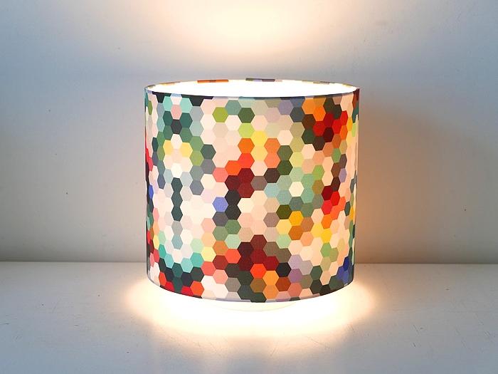 Tischlampe Rauten-0