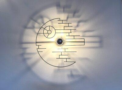 """""""Krieg der Sterne"""" - Schattenwandlampe-0"""