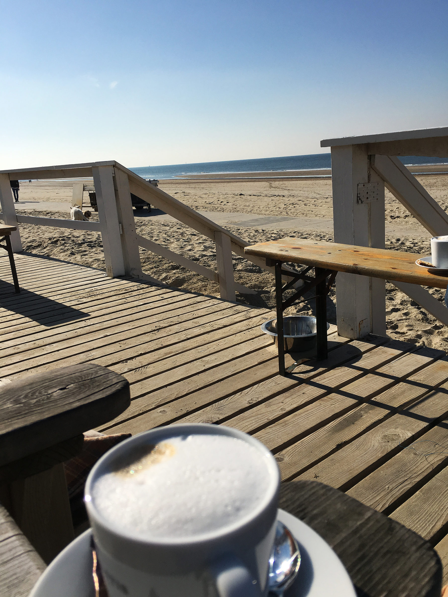 Cafe am Meer